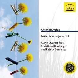 Dvorak - Sextet op. 48 - The Auryn Quartet : Christian Altenburger : Patrick Demenga - 180g LP