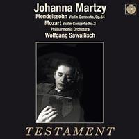 Mozart / Mendelssohn - Johanna Martzy - 180g LP