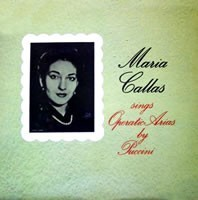 Puccini - Maria  Callas Sings Operatic Arias by Puccini - 180g LP Mono