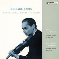 Mendelssohn / Ravel - Violin Concerto : Michael Rabin : Sir Adrian Boult - 180g LP Mono