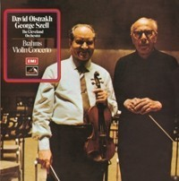 Brahms - Violin Concerto : David Oistrakh : Cleveland Orchestra : George Szell - 180g LP