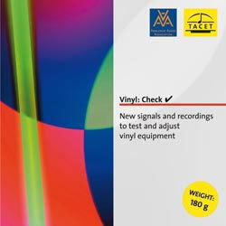 Tacet - Vinyl Check - Test Record LP - 180g LP