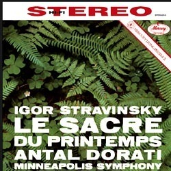 Stravinsky - Le Sacre Du Printemps - Antal Dorati : Minneapolis Symphony Orcheasta - 180g LP