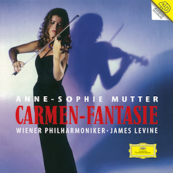 Anne Sophie Mutter - Carmen Fantasie : James Levine - 180g 2LP