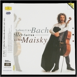 Bach - Mischa Maisky : J.S. Bach Suite For Cello 1-6 - 180g 3LP Box Set