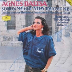 Agnes Baltsa - Songs My Country Taught Me - 180g LP