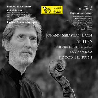 Rocco Filippini - J. S. Bach Suites Per Violoncello Solo BWV 1007-1008 - 180g LP