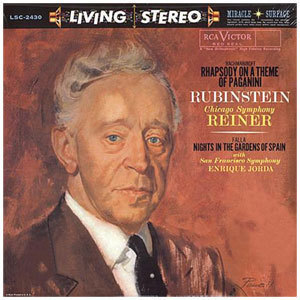 Rachmaninoff / Paganini / Falla - Rubinstein Reiner Jorda - SACD