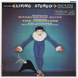 Khachaturian - Kiril Kondrashin - The Masquerade Suite & Kabalevsky The Comedians - SACD