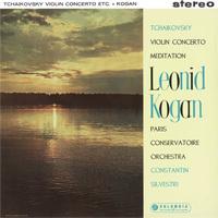 Tchaikovsky - Violin Concerto : Leonid Kogan : Conservatoire Orchestra : Silvestri - 180g LP