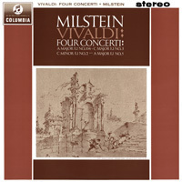 Vivaldi - Four Concerti for Violin , Strings and Cembalo : Nathan Milstein : - 180g LP