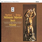 Bach - Concerto for Two Violins : Nathan Milstein , Erica Morini - 180g LP