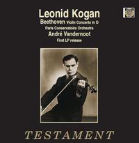 Beethoven - Violin Concerto In D, Op. 61 , Andre Vandernoot , Leonid Kogan - 180g LP Mono