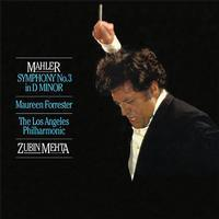 Mahler - Symphony No 3 - Maureen Forrester : Los Angeles Philharmonic : Zubin Mehta - 200g 2LP