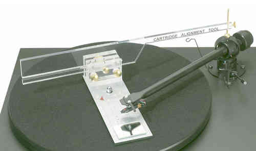 Pro-Ject Align-IT - Protractor : Cartridge Alignment tool / Gauge