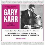 Gary Karr - Plays Double Bass / Bass Virtuoso - 200g  2LP