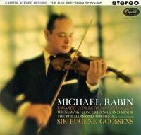 Paganini - Violin concerto No. 1 - Michael Rabin : Sir Eugene Goossens - 180g LP