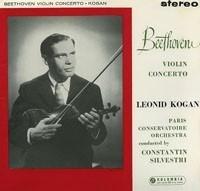 Beethoven - Violin concerto : Leonid Kogan : Constantin Silvestri : Paris Conservatoire - 180g LP