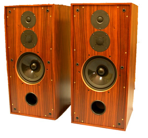 Stirling Broadcast BBC LS3/6 Speakers