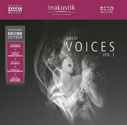 Great Voices Vol.2  - Various Artists : Reference Sound Edition - 180g 2LP
