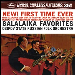 Balalaika Favorites - The Osipov State Russian Folk Orchestra conducted by Vitaly Gnutov - 180g LP