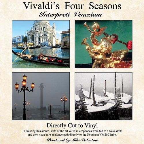 Vivaldi - The Four Seasons : Interpreti Veneziani -  180g D2D LP