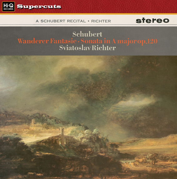 Schubert - Wanderer Fantasie : Sonata in A major op.120 : Sviatoslav Richter - 180g LP