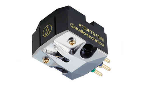 Audio Technica AT33PTG/II Moving Coil Cartridge MC