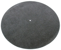 Tonar Turntable Black Leather Record Mat