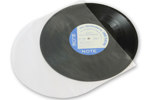 "12"" LP HDPE 1.6mil Inner Sleeves Anti-Static Tonar Nostatic 5961"