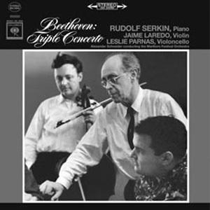Beethoven - Triple Concerto : Serkin/ Laredo/ Parnas : Alexander Schneider - 180g LP