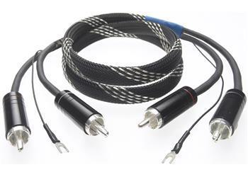 Pro-Ject - Connect-IT CC - RCA to RCA Tonearm Cable with Ground Wire OFC 1.2M