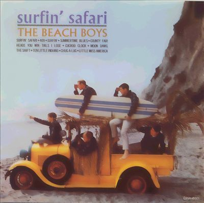Beach Boys - Surfin' Safari - 200g LP Mono