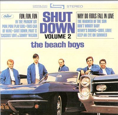 Beach Boys -   Shut Down Volume 2   - 200g LP Mono