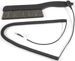"Acoustech The Big Record Brush - Anti Static Record Cleaning Brush   5.5""  with Grounding Cord"