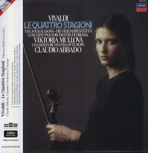 Vivaldi - The Four Seasons : Viktoria Mullova - 180g LP