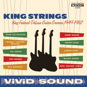King Strings - King Federal Deluxe Guitar Groves : 1949-1962 : Various Artists - 180g LP Mono