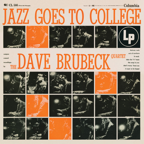 Dave Brubeck Quartet - Jazz Goes To College - 180g LP Mono