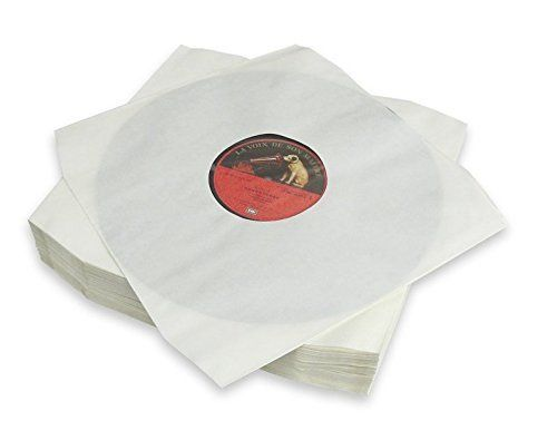 "12"" LP HDPE White Inner Sleeve Polylined Anti-Static  60Gsm ( Cut Corner )"