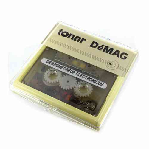 Tonar DeMag Electronic Cassette Tape Head Demagnitizer