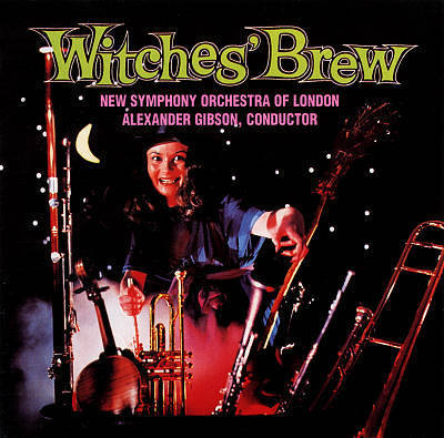 Alexander Gibson - Witches' Brew : New Symphony Orchestra Of London - 200g LP