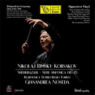 Rimsky Korsakov : Sheherazade : Gianandrea Noseda : Filarmonica Teatro Regio Torino- 180g LP