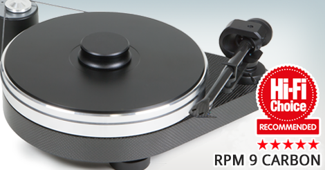 Pro-Ject  RPM 9 Carbon Turntable / Dustcover