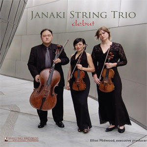 Penderecki - Janaki String Trio - Debut - 45rpm 180g  LP