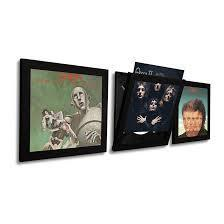 Art Vinyl Play & Display Record Frame - Black Single