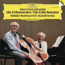 Brahms - The Cello Sonatas : Mstislav Rostropovich : Ruldof Serkin - 180g LP