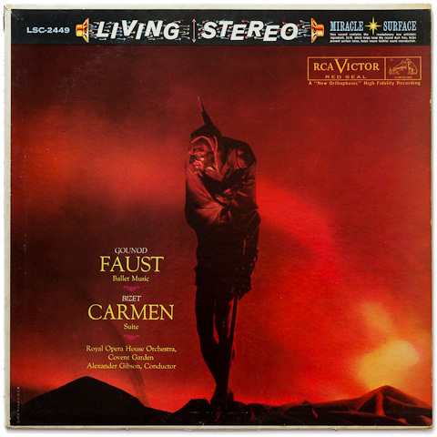 Faust - Ballet Music - Carmen : Suite - Royal Opera House Orchestra • Alexander Gibson - 200g LP