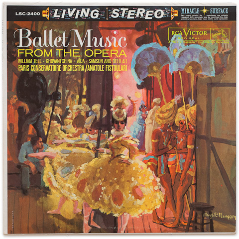 Anatole Fistoulari - Ballet Music From The Opera : Paris Conservatoire Orchestra - 200g LP