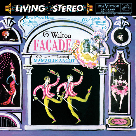 Walton / Facade - LeCocq / Mamzelle Angot : Anatol Fistoulari:Royal Opera House Orchestra - 200g LP