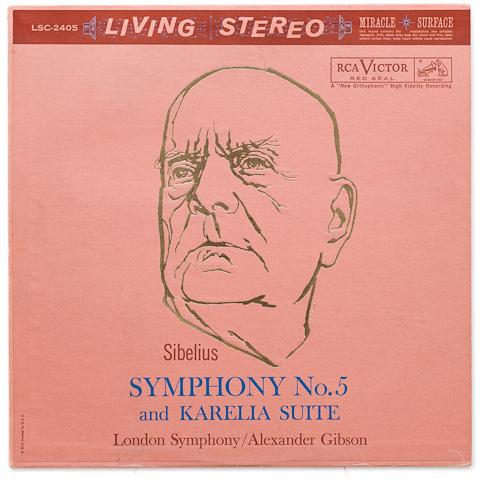 Sibelius - Symphony No. 5 : Karelia Suite : London Symphony Orchestra : Alexander Gibson - 200g LP